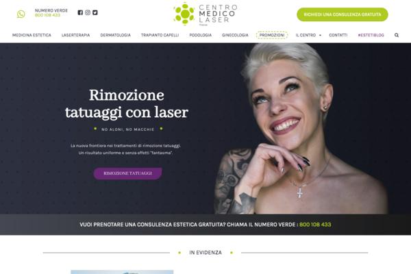 sito web di Centro Medico Laser