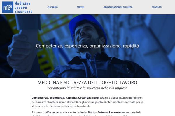 sito web Medicina Lavoro Sicurezza
